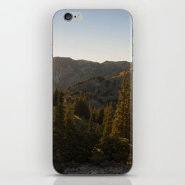 Into the Sunset iPhone Skin