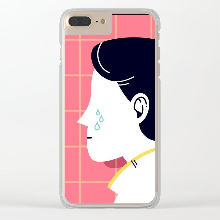Despair Society Clear iPhone Case