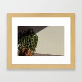 Artificial Foliage Framed Art Print