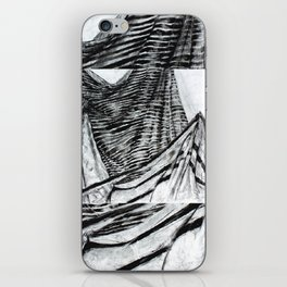 Double Drapery Drawing iPhone Skin