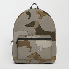 Dashing Dachshunds Backpack