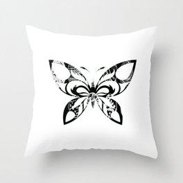 Butterfly 202 Throw Pillow