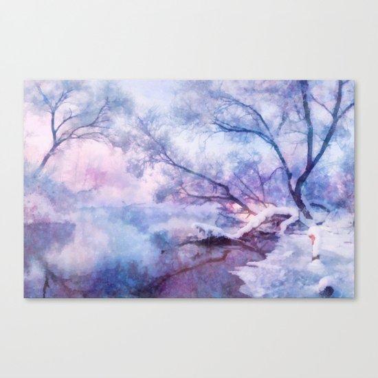 Winter fairy tale Canvas Print