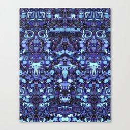 Robot World Canvas Print