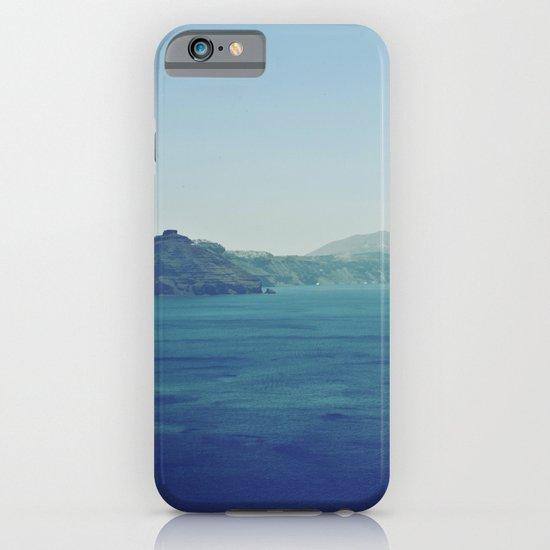 Greek Island Blues iPhone & iPod Case