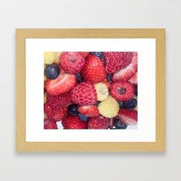 berries? Framed Art Print