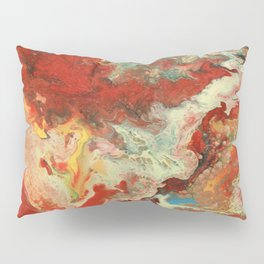 Abstract Oil Painting 2 Pillow Sham