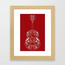 Roja es mi pasion Framed Art Print