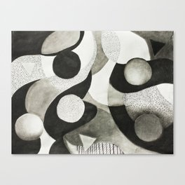 Highs & Lows Canvas Print