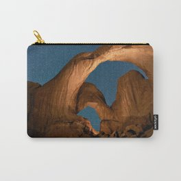 Double Arch In Arches National Park Carry-All Pouch