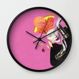 I Don't Care If You Don't Like It Wall Clock