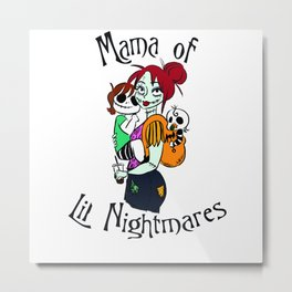 Monster Mama Metal Print