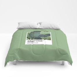 Pantone Series – Banana Leaf Comforters