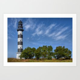 Osmussaare Island Lighthouse Art Print