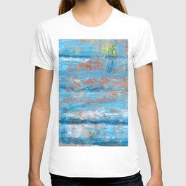 Abstract linen n.5 T-shirt