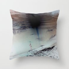 Mississippi Red Throw Pillow