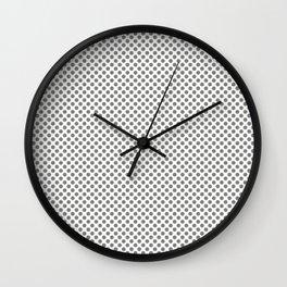 Moon Mist Polka Dots Wall Clock