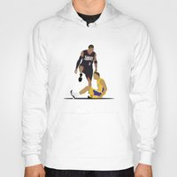 lakers Hoodies featuring Step Over Lue by Steven Paris
