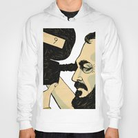 stanley kubrick Hoodies featuring kubrick by Le Butthead
