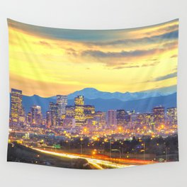 The Mile High City Wall Tapestry