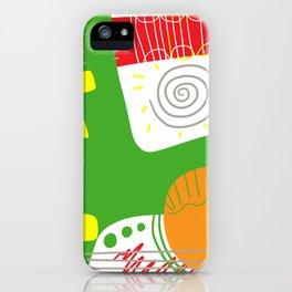 Happy color 1 iPhone Case