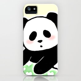 Read panda a story iPhone Case