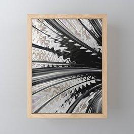 Fanning Framed Mini Art Print