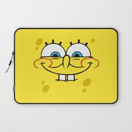 Spongebob Naughty Face Laptop Sleeve