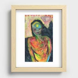 Spirit/Figure Recessed Framed Print