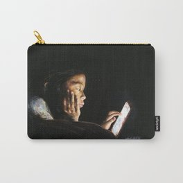 Portrait of Tara Carry-All Pouch
