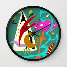The Dream Tent Wall Clock