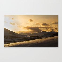 The Cairngorms National Park Canvas Print