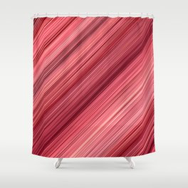 Ambient 33 in Red Shower Curtain