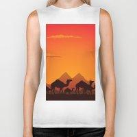 camel Biker Tanks featuring Camel by aleksander1