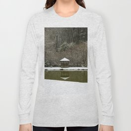 Snow at the Pond Long Sleeve T-shirt