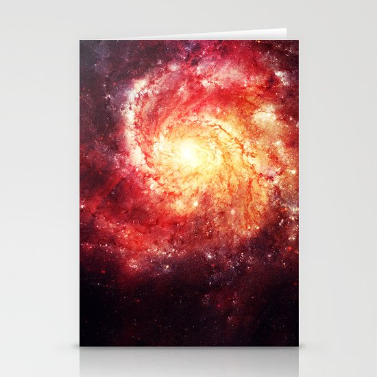 The galaxy that didn't exist! Stationery Cards