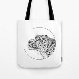 Snow leopard - Panthera uncia Tote Bag
