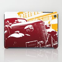 law iPad Cases featuring The Law by Steel Graphics