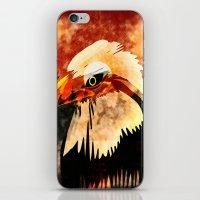 eagle iPhone & iPod Skins featuring Eagle by Ljartdesigns