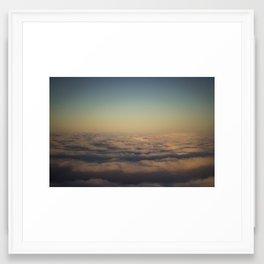 A Sea of Clouds Framed Art Print