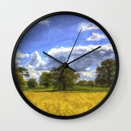 The Arrival Of Summer Art Wall Clock
