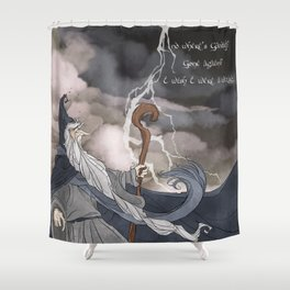 I wish I were a Wizard Shower Curtain