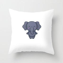 I Do What I Want Funny Elephant Elephants Throw Pillow