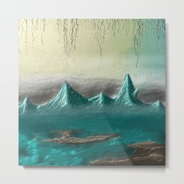 Whispering Mountains Metal Print