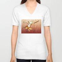 avatar V-neck T-shirts featuring Avatar by SnowVampire