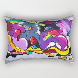 graffiti art Rectangular Pillow