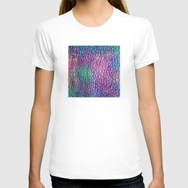 Northern Lights Eclipse Abstract T-shirt