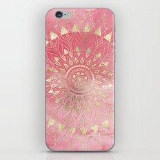 Modern  gold mandala iPhone & iPod Skin