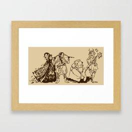 Half-Elves Framed Art Print