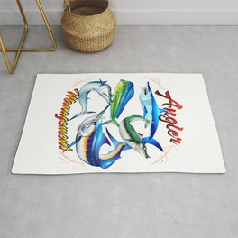 Angler Management Offshore Fish Rug